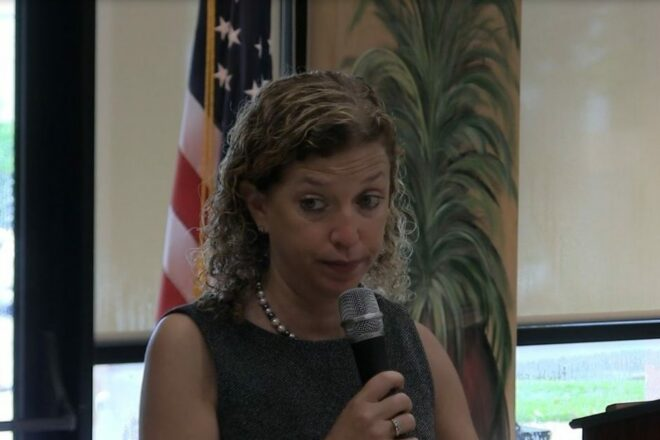 Wasserman Schultz openly sides with Kavanaugh's accuser