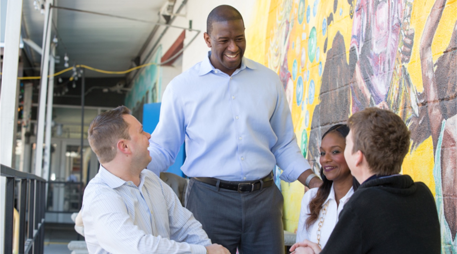 Gillum proposes higher corporate taxes for education