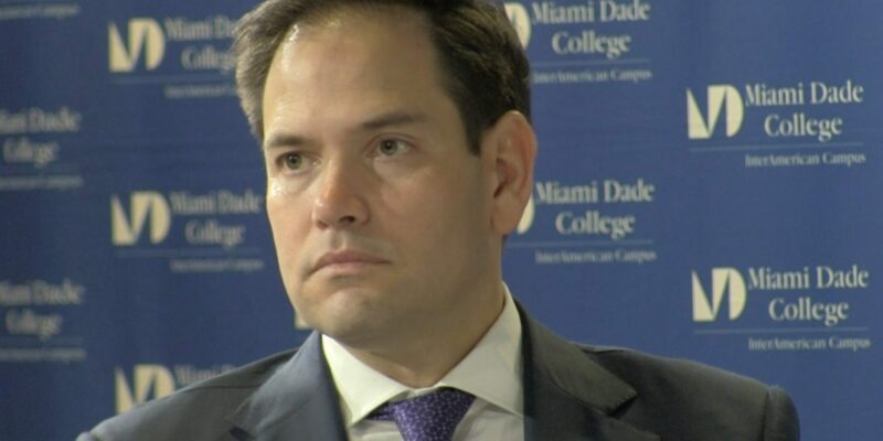 "Marco Rubio a ""Yes"" vote for Kavanaugh"