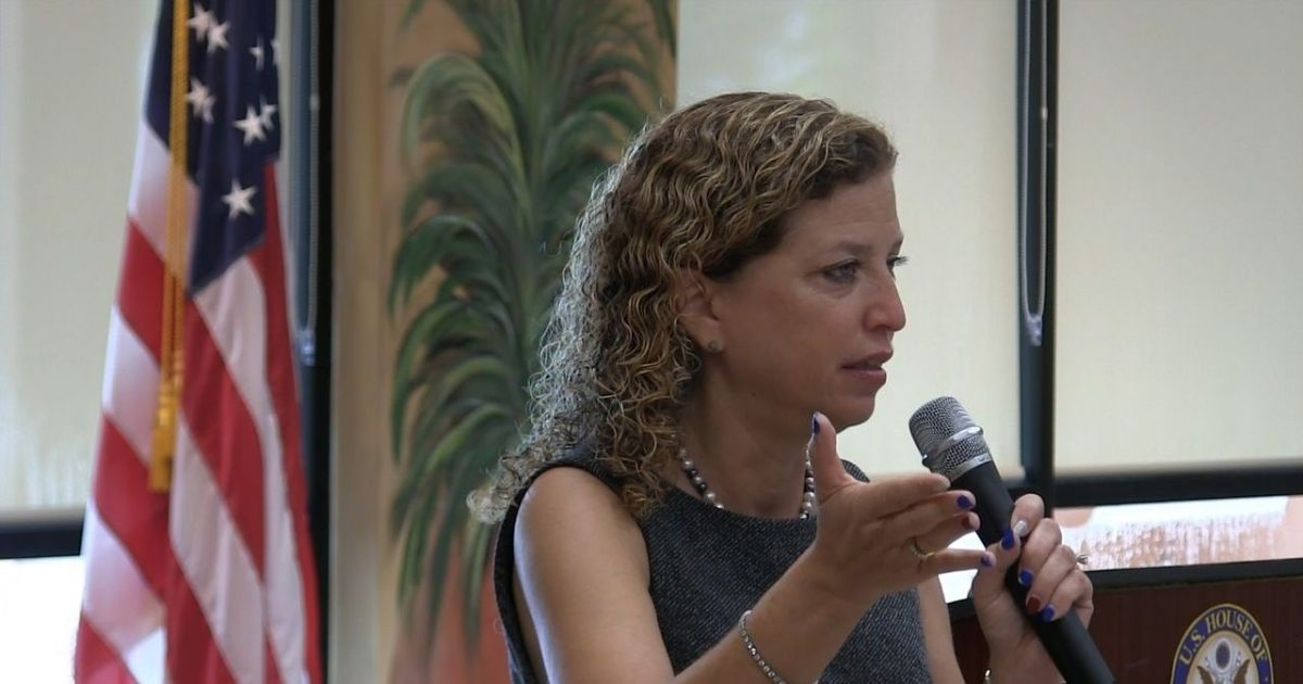 "Wasserman Schultz says $1000 tax bonus doesn't go ""very far"""