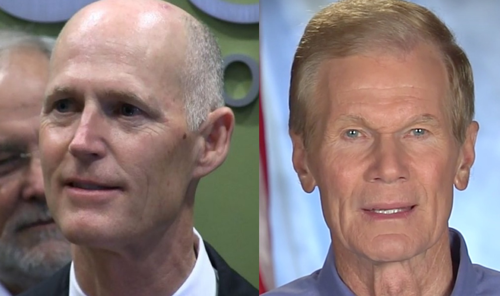 Scott edging out Nelson in Florida's U.S. Senate race