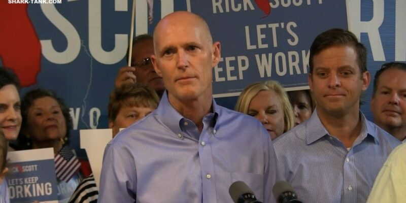 Rick Scott Moves to Suspend Congressional Pay