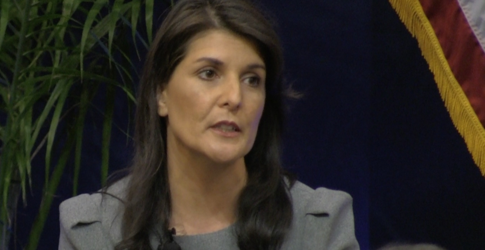 Nikki Haley resigns from her job at U.N.