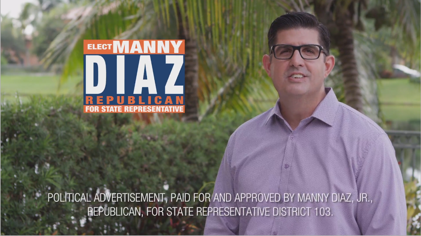 Manny Diaz Jr's salsa-spiced campaign kick-off event