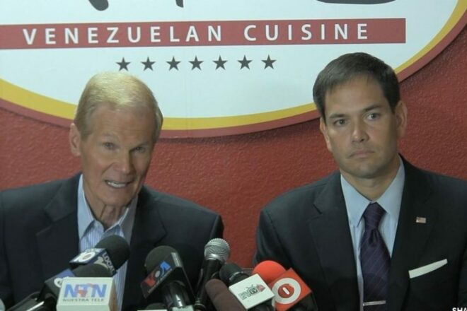 Rubio says goodbye to his friend and colleague Bill Nelson