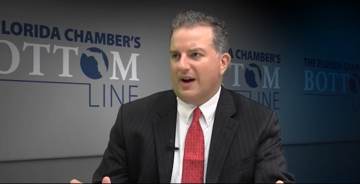 Suspended regulator blasts CF) Jimmy Patronis in lawsuit