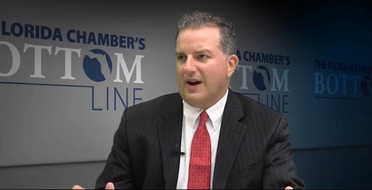 Patronis pressure leads to regulator's exit