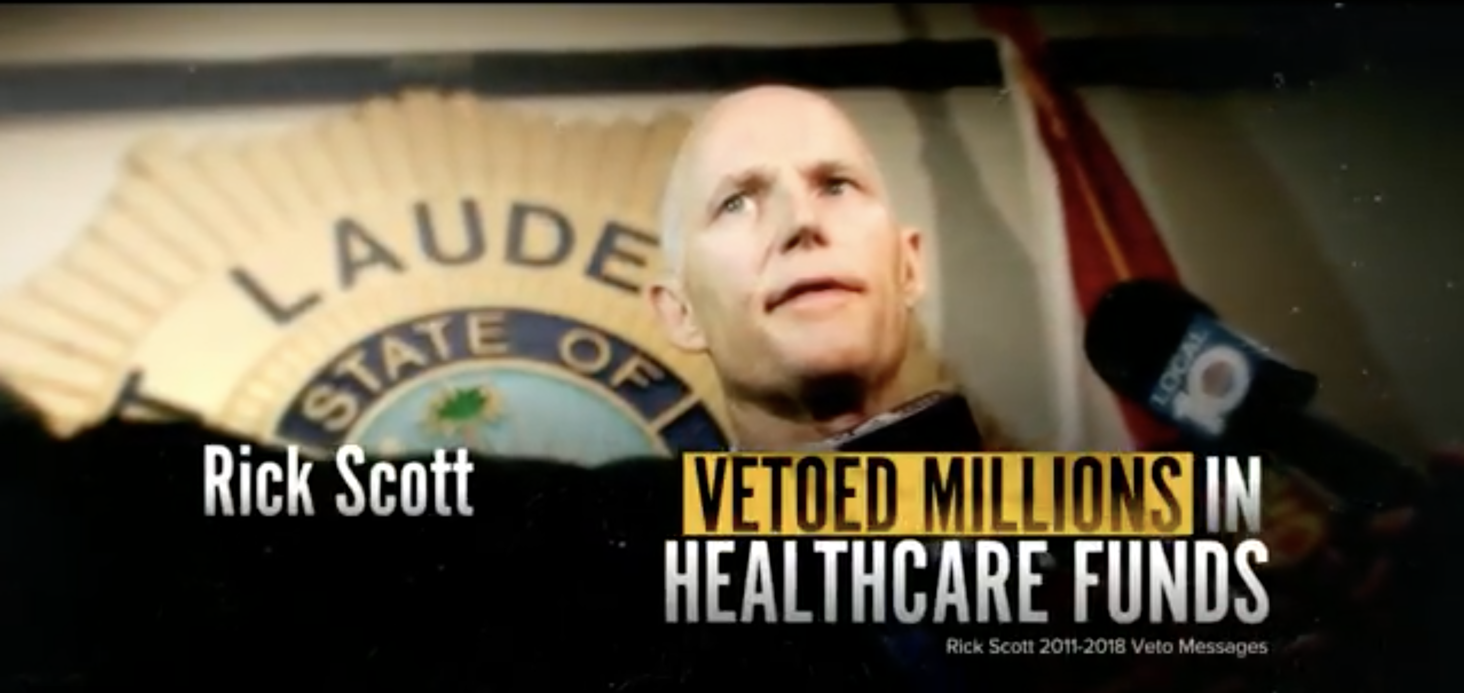 Scott's Healthcare Record Slammed in new Advertisement