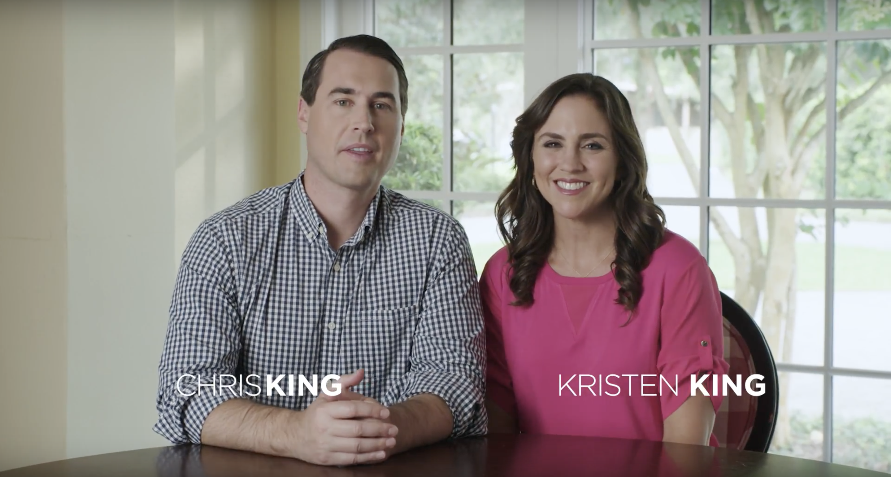 Chris King Releases new Advertisement With his Wife