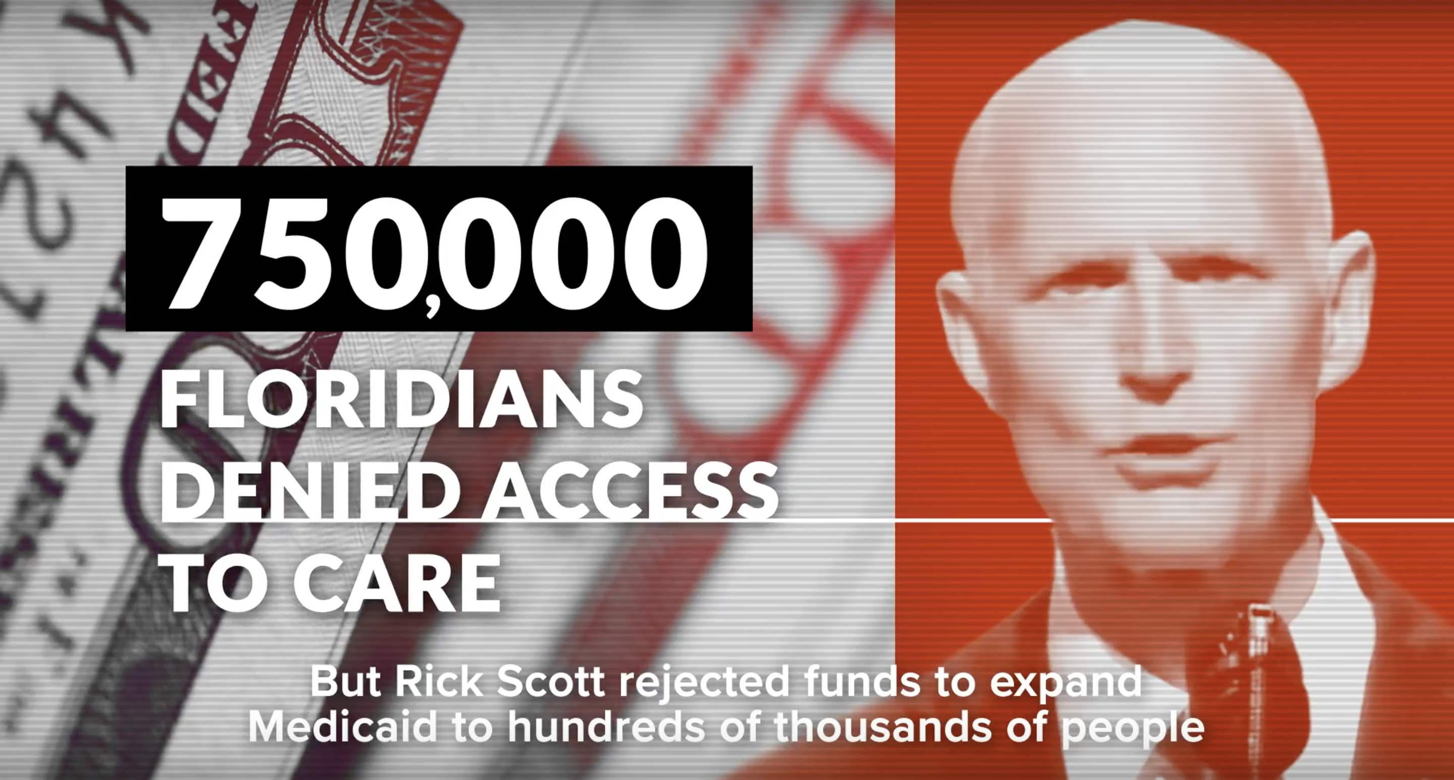 New Advertisement Attacks Governor Scott on Medicaid