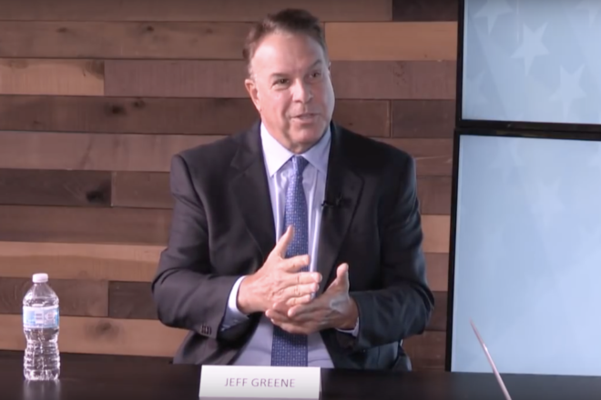 Jeff Greene Talks About Encounter With President Trump