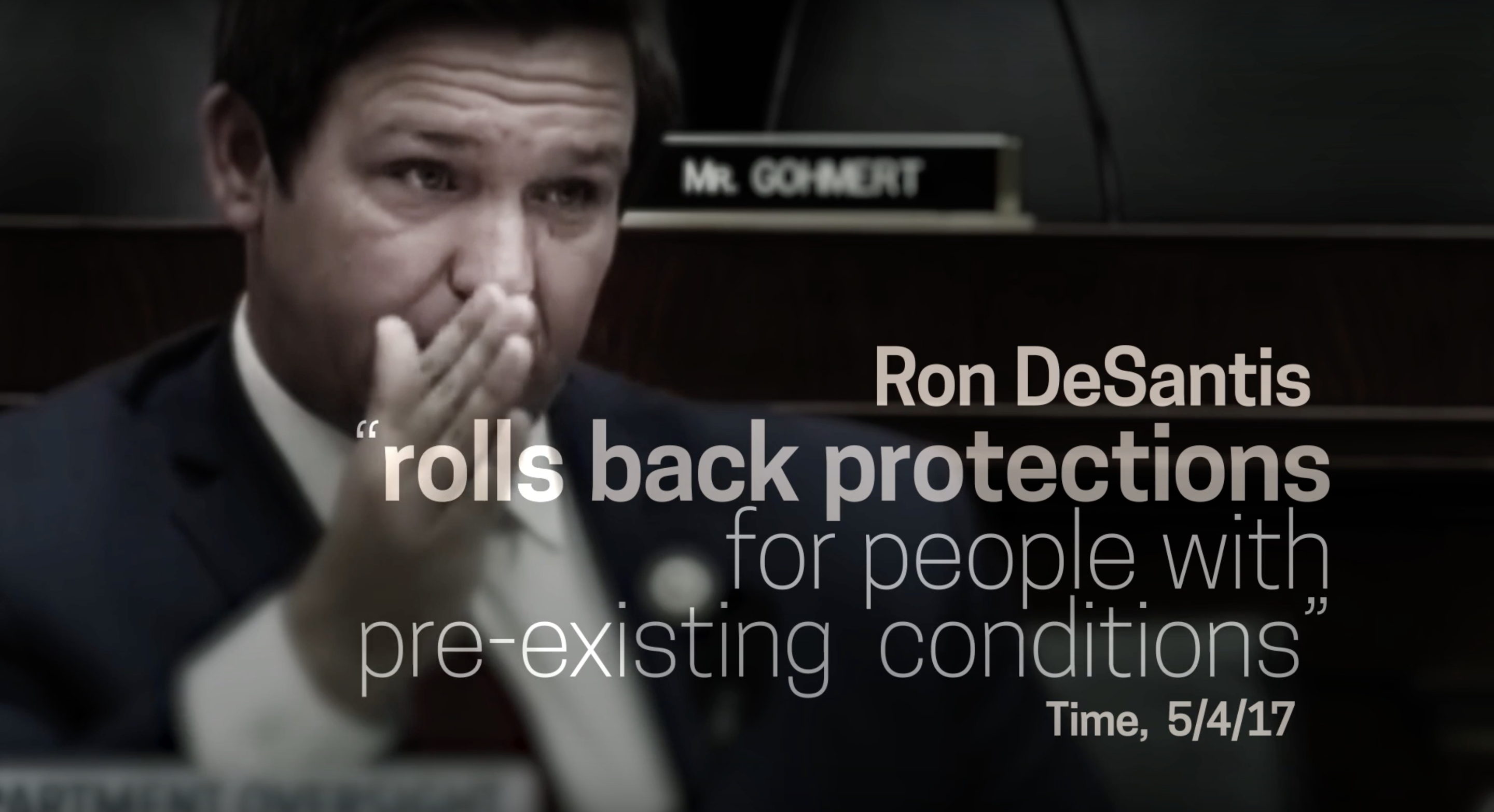 Democrats Release new Advertisement Attacking Congressman DeSantis