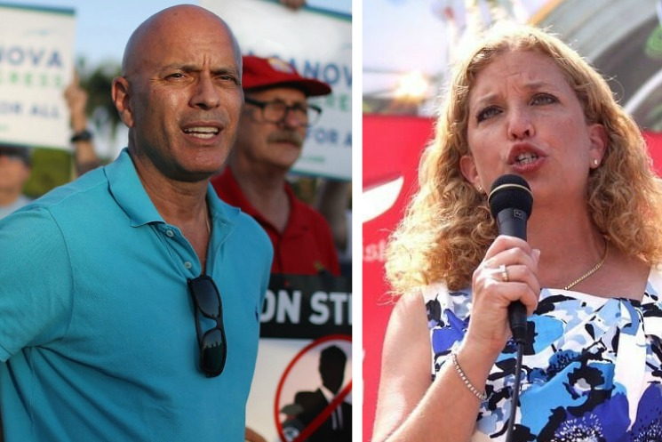 GOP poll may have Wasserman Schultz and Canova tied