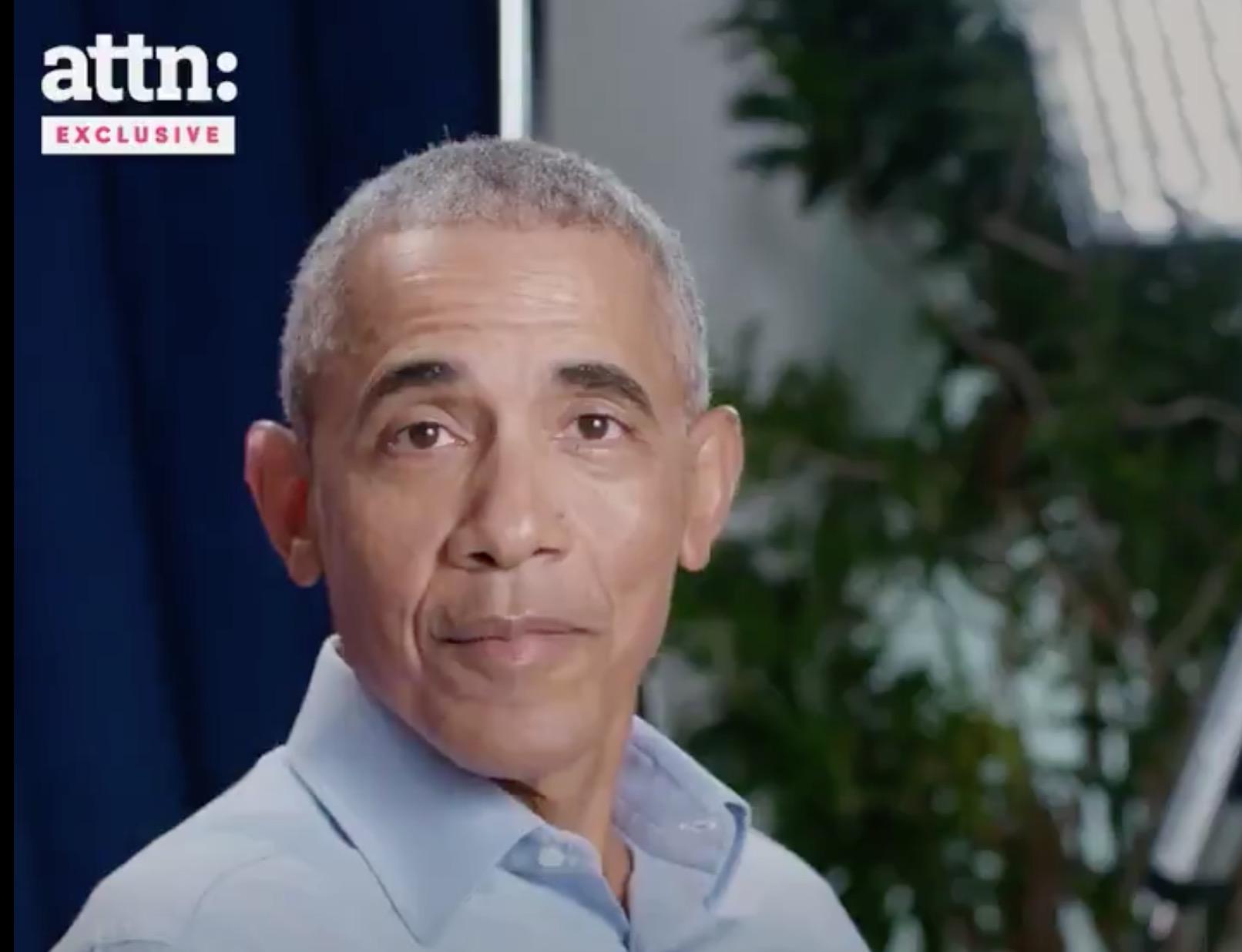 Obama stars in new pro-Democratic Party agenda voting video
