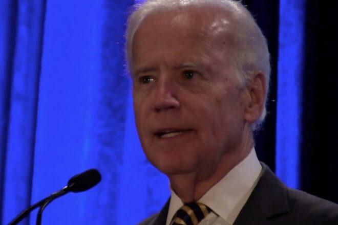 """Biden """"proud"""" of being an """"Obama-Biden Democrat"""""""