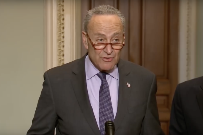 Schumer's Hypocrisy on Display in Senate Race Between Nelson and Scott