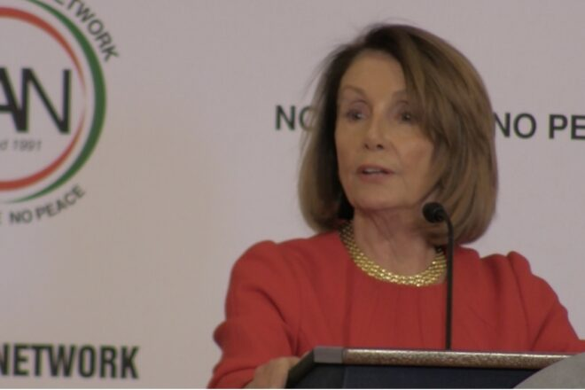 """Pelosi taunts Trump: """"There's not going to be any wall money"""""""