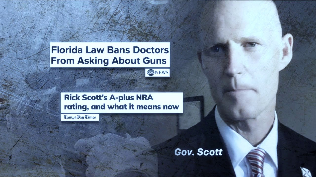 Rick Scott Attacked By Giffords Gun Control Group