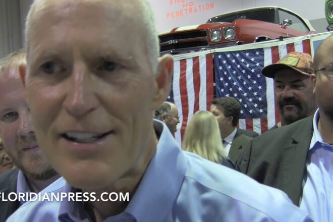"""Rick Scott Calls Nelson """"Completely Confused"""" (Video)"""