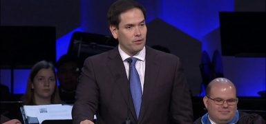 Rubio Speaks to Kings Academy Students