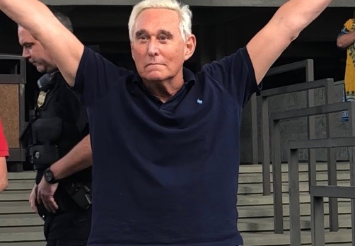 "Roger Stone says judge gave him ""the death penalty"""