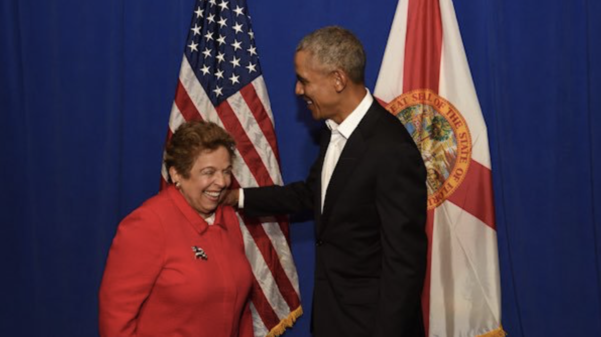 Congresswoman Shalala Goes to bat for Obamacare