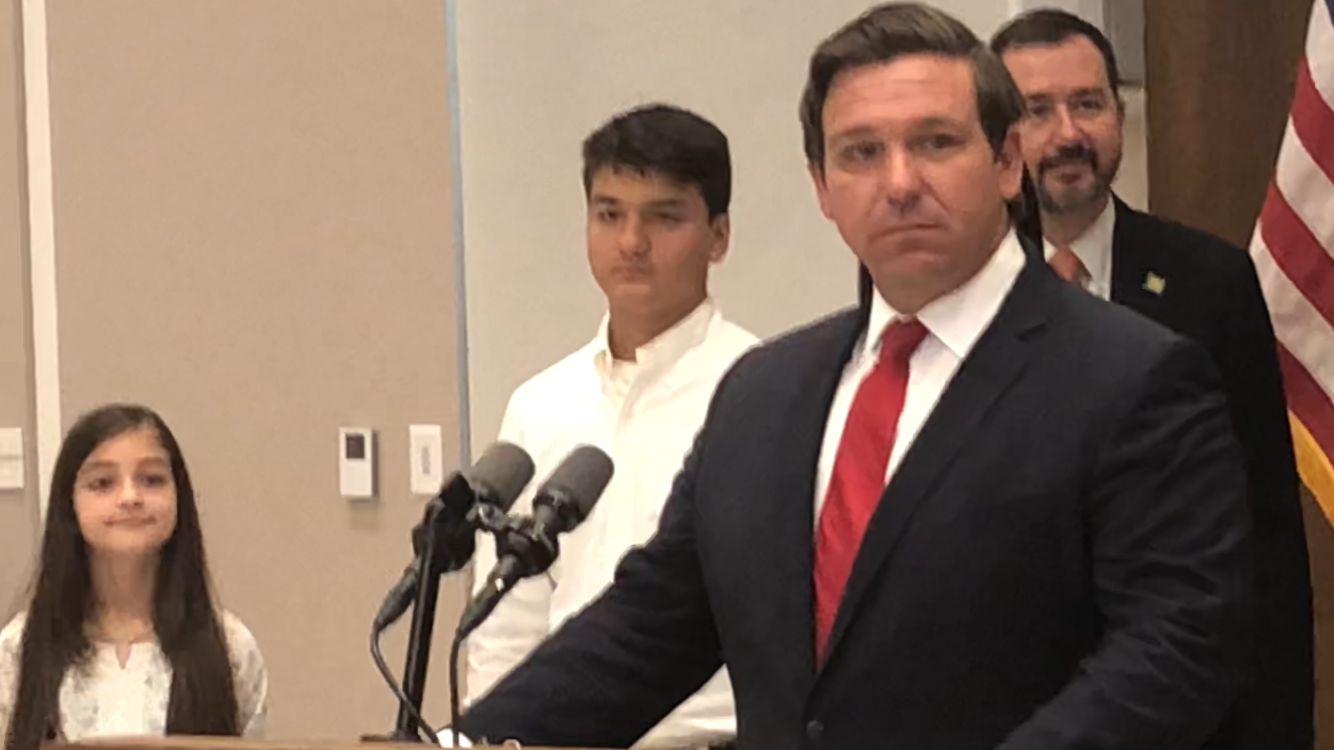 "DeSantis on 'Sanctuary City' bill : ""I'll sign it, absolutely"""