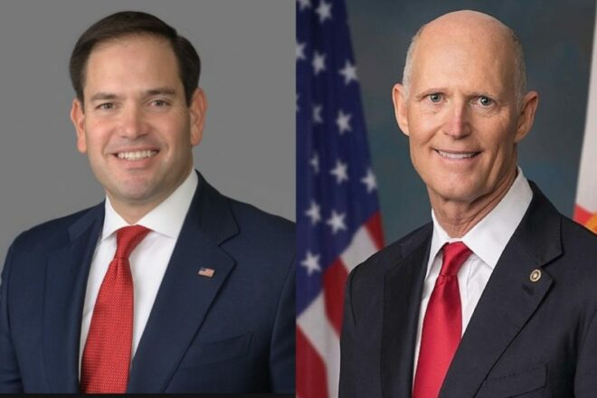 Floridians Rubio and Scott Voted In Favor To Confirm Amy Coney Barrett's Nomination To Supreme Court