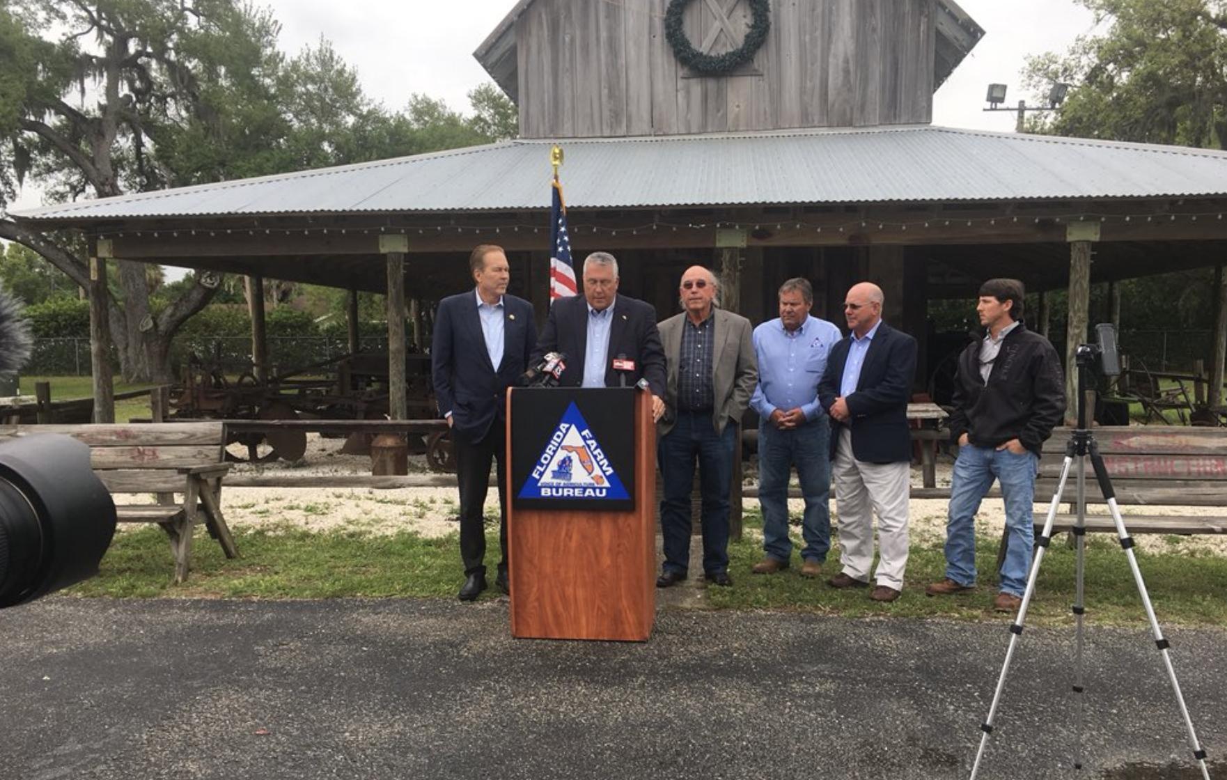 "Buchanan Defends FL Farmers Against ""Unfair Trade Practices"""