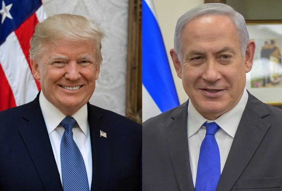 Trump sides with Israel, pokes international community in the eye