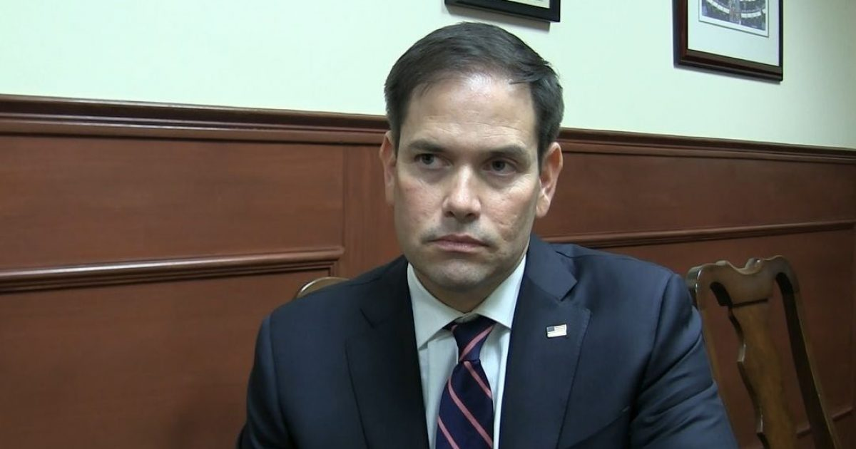 Rubio tears into lying China's authoritarian grip