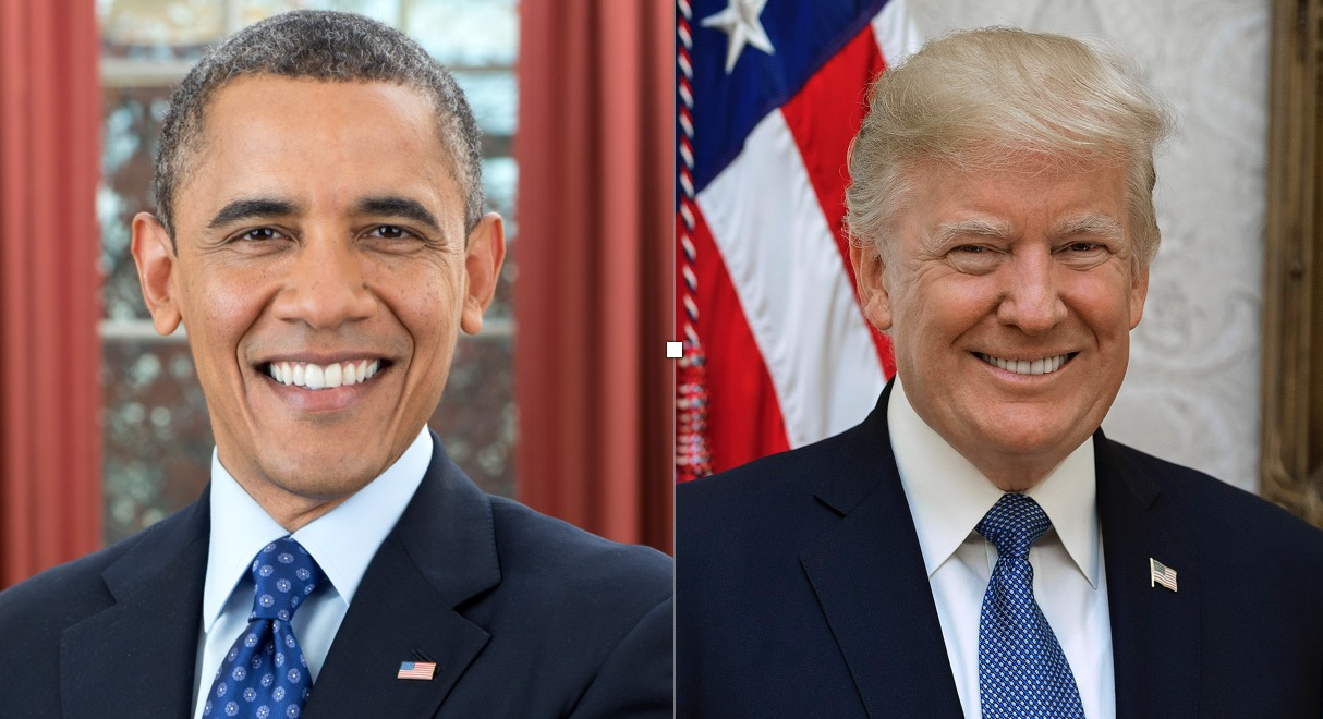 Trump outpacing Obama in presidential poll comparison