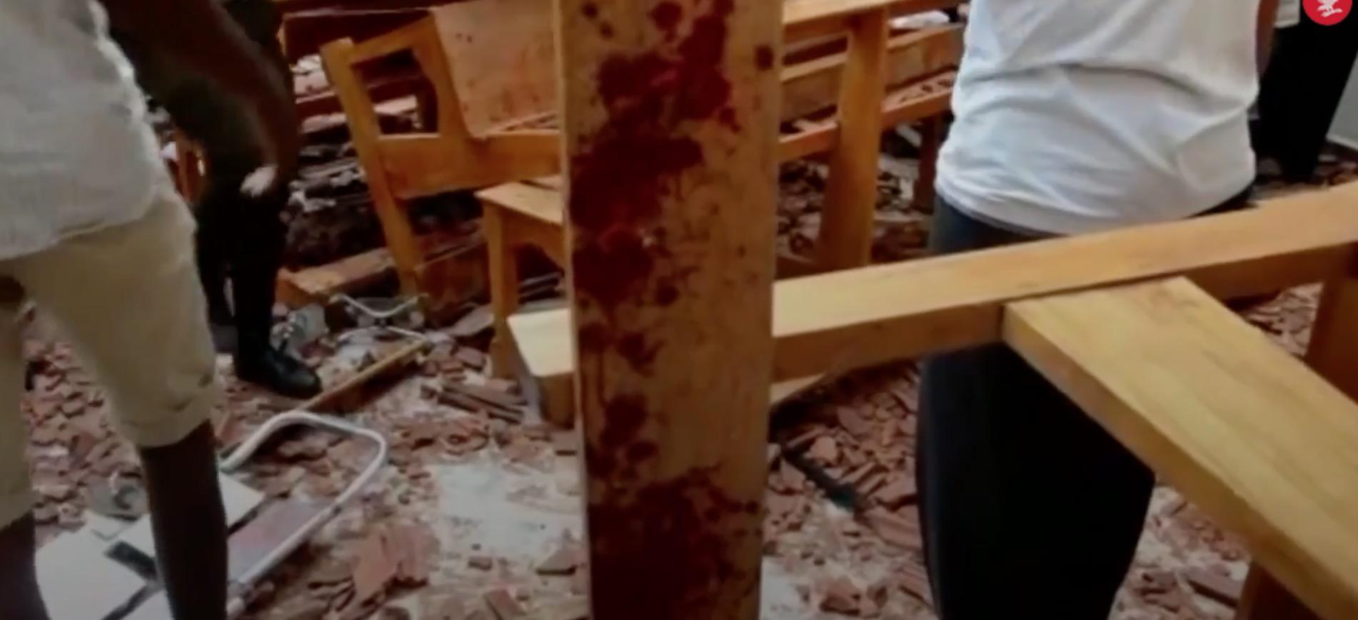 "Terrorist attack in Sri Lanka by ""religious extremists"" kills 200+"