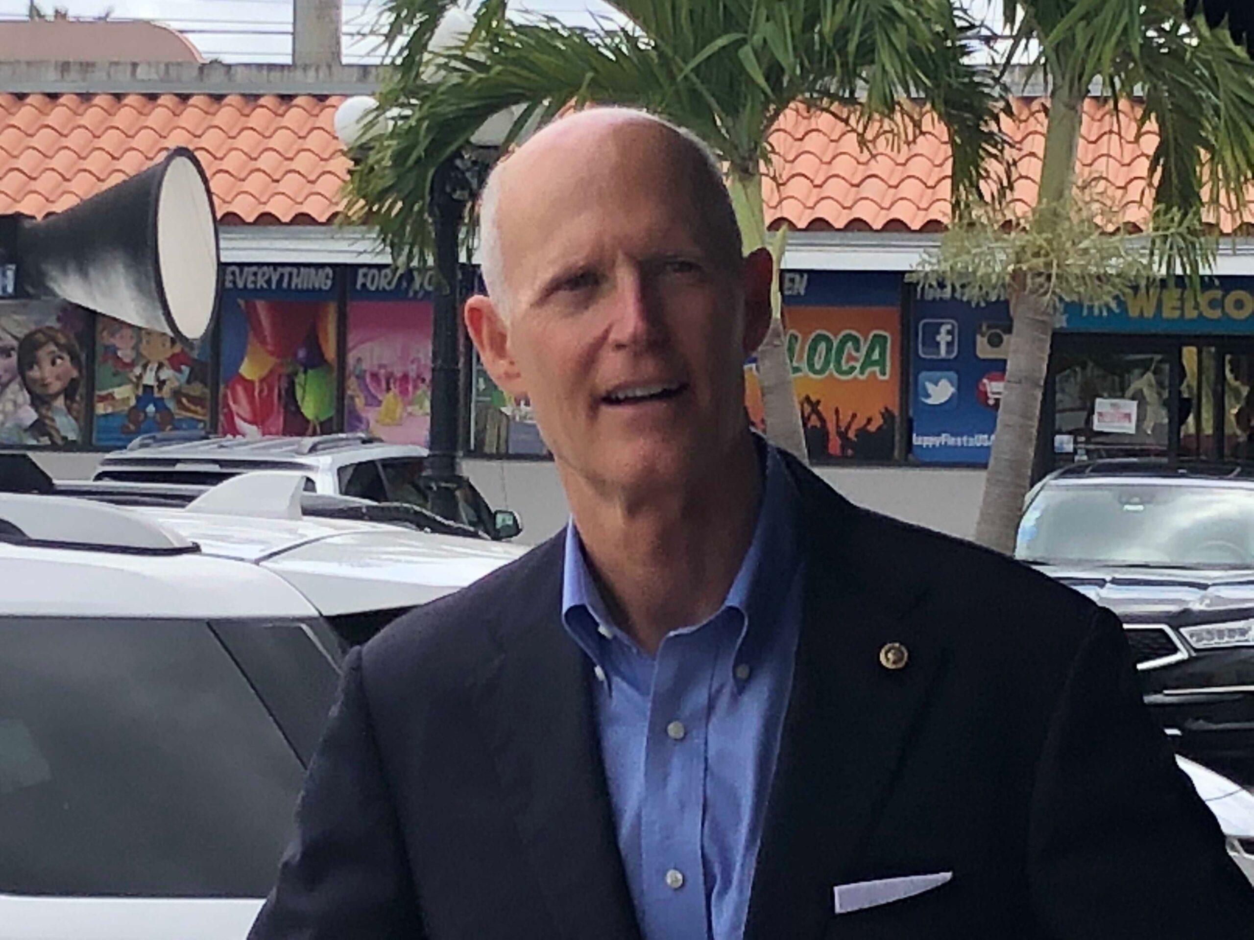 Rick Scott Slams Maduro For Sending Money To Cuba and Russia