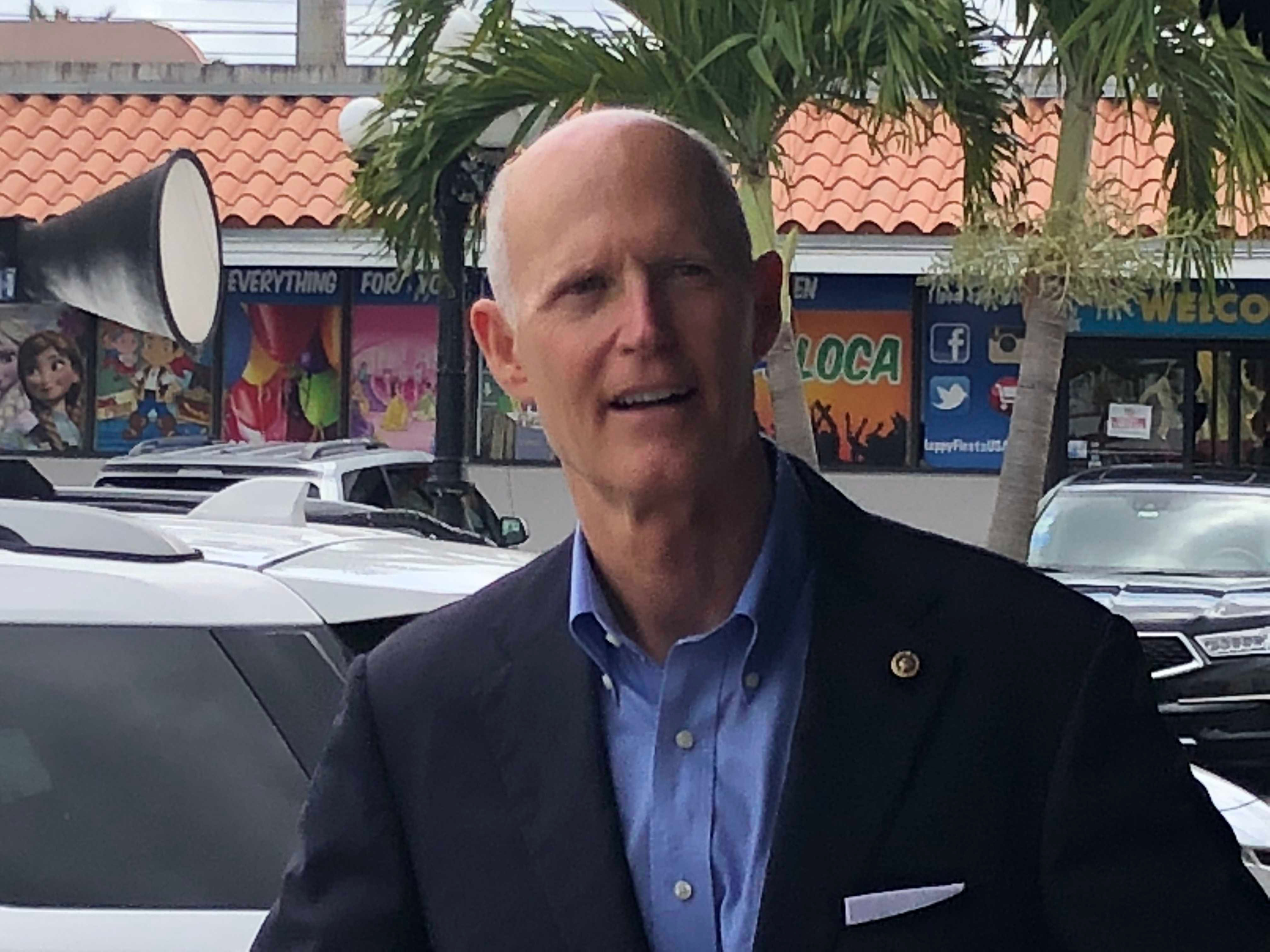 Scott wants state-based healthcare coverage, solutions