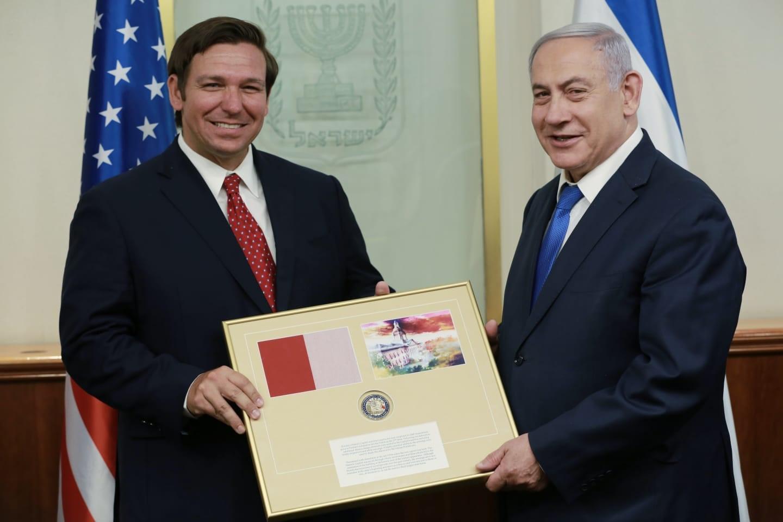 DeSantis meets with Netanyahu, prays at Western Wall