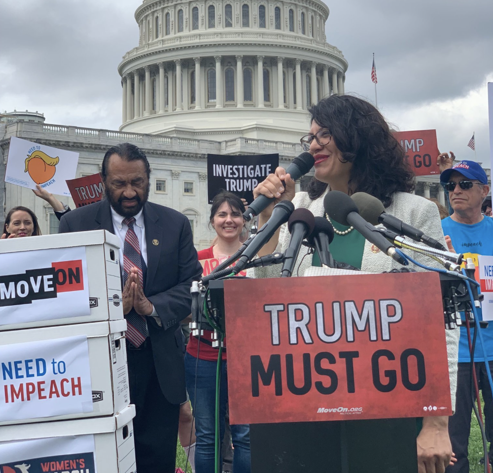 """Tlaib: Trump """"Endangers our Well-Being"""""""