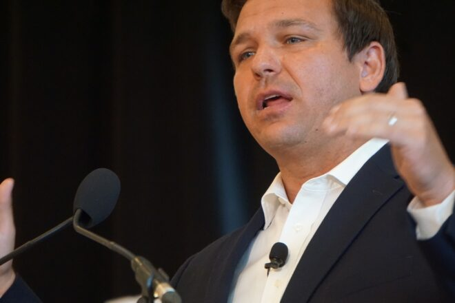 DeSantis attacked by failed gubernatorial candidate