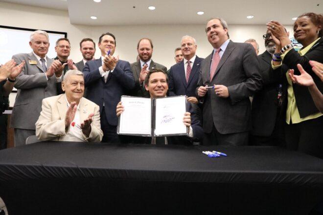 Ron DeSantis signs 'sanctuary cities' bill into law