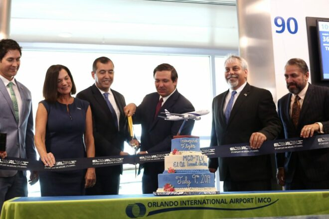 DeSantis keeps winning, announces new air service to Israel