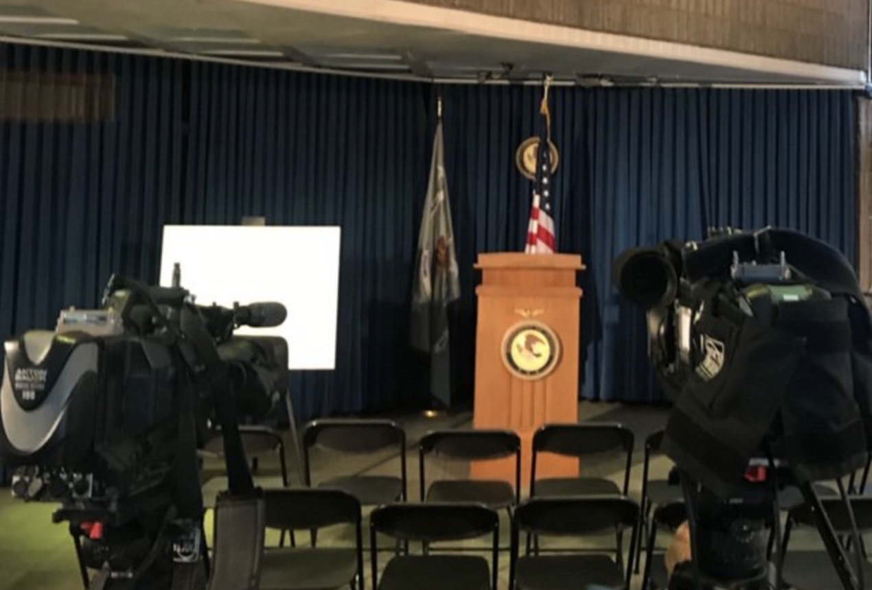 U.S. Attorney Holds Conference on Epstein Case