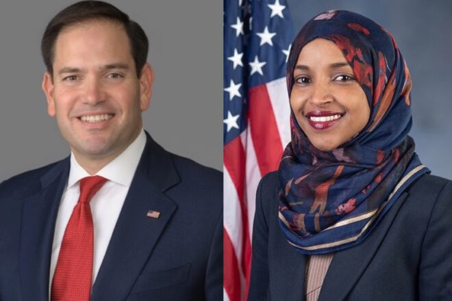 Rubio angered by Ilhan Omar's anti-American remark