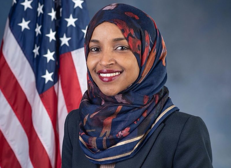 Omar forgets she represents all Americans during Twitter spat