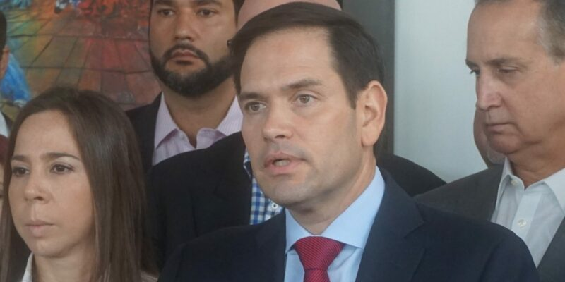Rubio defends Trump, says 'he didn't create' current problems