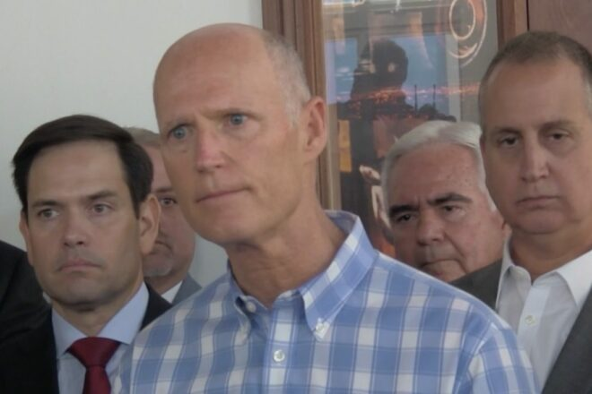 Scott Reaffirms Stance on No Bail Outs for Blue States