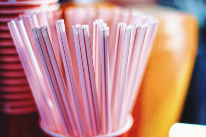 Measure would ban plastic straws, carryout bags