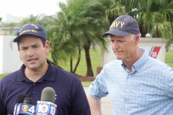 """Rubio says it """"looks like a bomb"""" exploded in The Bahamas"""