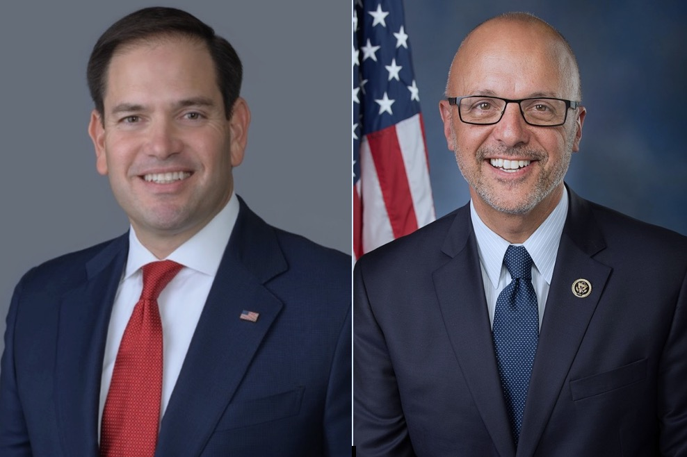 Rubio questioned by possible 2022 Senate challenger
