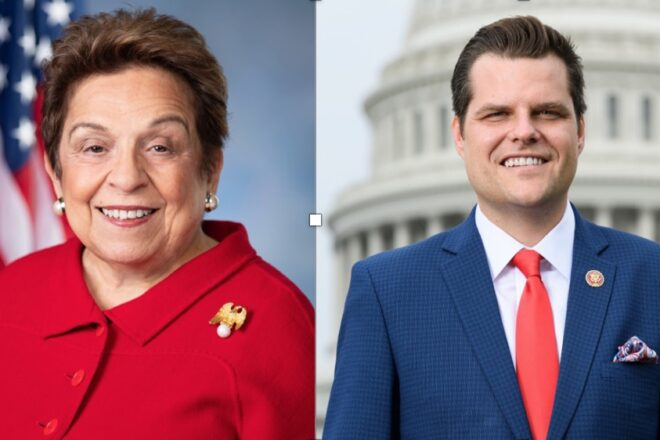 House Democrat accuses Rep. Gaetz of not doing his job