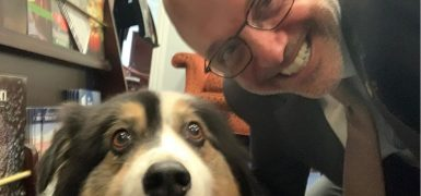 Ted Deutch and Dog